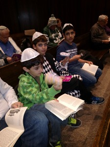 Listening to the Megillah